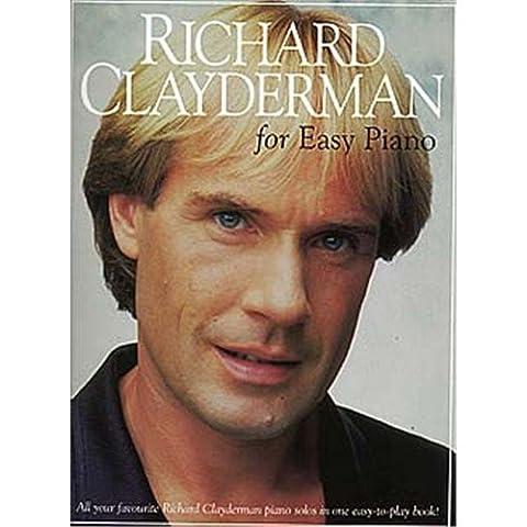 Richard Clayderman For Easy Piano. Partitions pour Guitare et Piano(Symboles d'Accords)