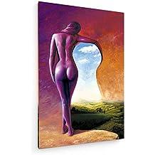 Viajero - 60x90 cm - Impresiones sobre lienzo - weewado - Muro de arte - Artista