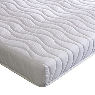 Happy Beds Deluxe Bonnell Spring Memory Foam Orthopaedic Mattress, Various Sizes