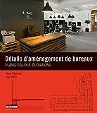 Détails d'aménagement de bureaux: Plans, coupes, élévations