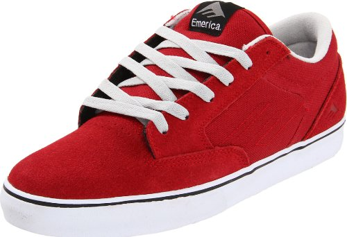 Emerica JINX 6101000065, Chaussures de skateboard mixte adulte Rouge-TR-SW127