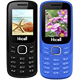 Hicell C9 Metro (Combo Of Two MOBILES) Dual Sim Mobile Phone With Digital Camera And 1.8 Inch Screen (Darkgrey+NavyBlue)