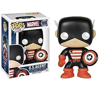 Marvel U.S.Agent Pop! Vinyl Bobble Head (108) Underground Toys EXCLUSIVE