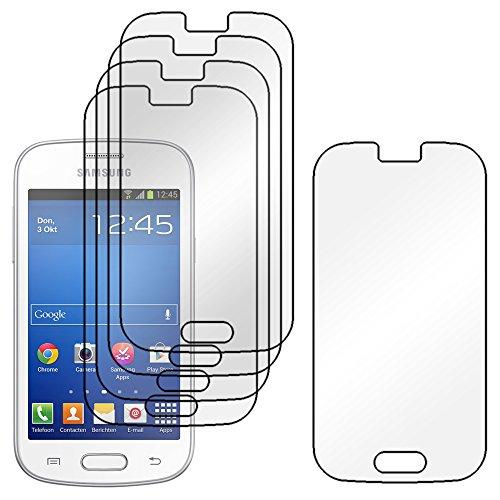 ebestStar - Compatible Pack x5 Film Protection Samsung Galaxy Trend Lite S7390 S7392 Protecteur d'écran Plastique Souple Anti-Rayures [Appareil: 121.5 x 63.1 x 10.9mm, 4.0'']