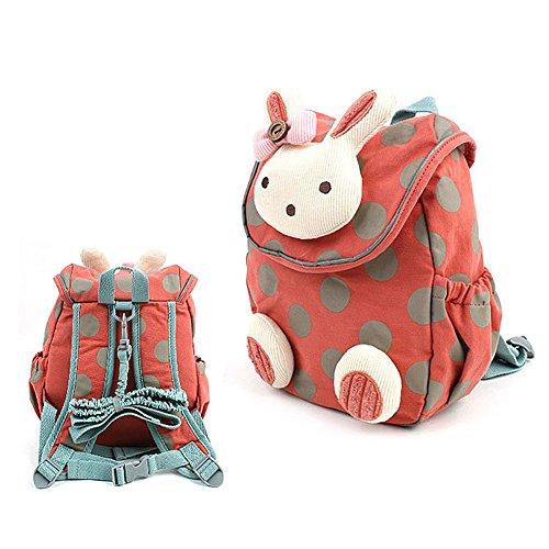 Babyrucksack-Kindergartenrucksack-Kindergartentasche-Backpack-Schultasche-Kinder-orange