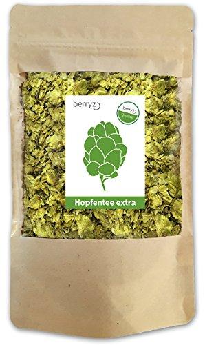 Hopfentee - Hopfenblüten - Hopfendolden - berryz -Der ideale Tee zum Abend und zur Nacht + 100%...