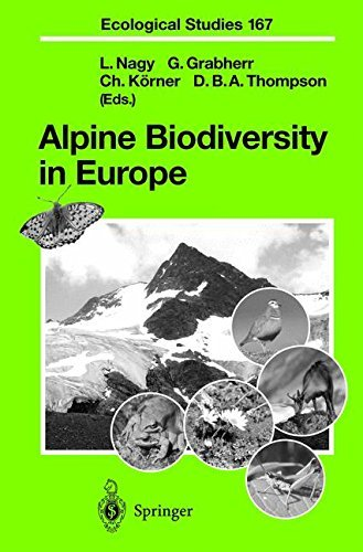 Alpine Biodiversity in Europe (Ecological Studies Book 167) (English Edition)