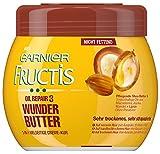 Garnier Fructis Oil Repair 3 Wunder Butter Creme Kur/Haarkur für sehr trockenes und strapaziertes Haar, 3er Pack (3 x  400 ml)