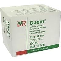 GAZIN Mullkomp.10x10 cm unsteril 8fach Op 100St. preisvergleich bei billige-tabletten.eu