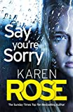 Say You're Sorry (The Sacramento Series Book 1) (English Edition)