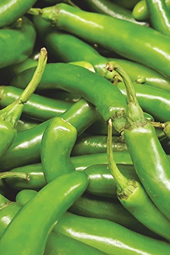 The Serrano Peppers Journal: 150 page lined notebook/diary