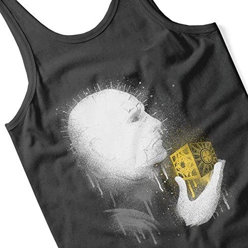 Raise Hell Pinhead Hellraiser Women's Vest Black