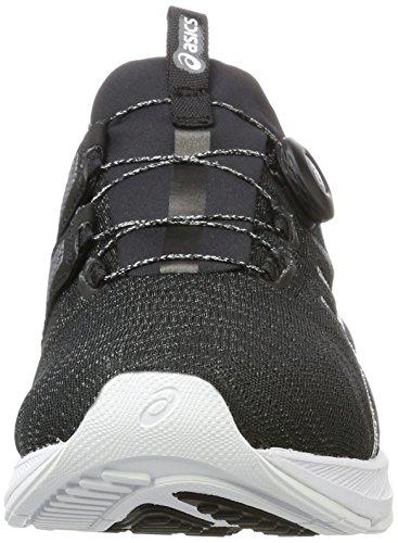 Asics Dynamis, Chaussures de Running Homme Gris (Carbon/black/white)