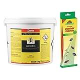 Detia - Ameisen-Ex, Ameisenmittel - 5 kg - Inklusive 1x Ungeziefer Klebefalle