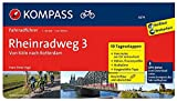 Rheinradweg 3 - Von Köln nach Rotterdam: Fahrradführer mit 10 Tagesetappen, GPX-Daten zum Download und Routenkarten im optimalen Maßstab. (KOMPASS-Fahrradführer, Band 6274)