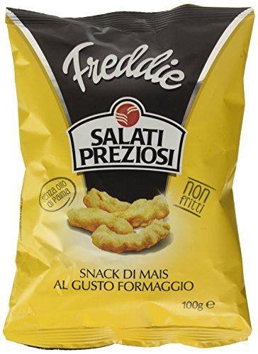 Freddie Salati Preziosi Snack di Mais al Gusto Formaggio, 100