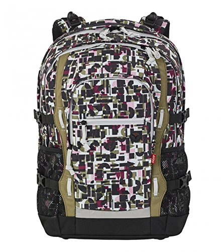 4YOU Basic Jampac Rucksack 47 cm geometric sheen