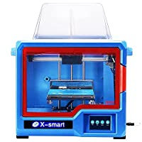 2018 QIDI TECHNOLOGY 3D Printer, New Model: X-smart, Fully Metal Structure, 3.5 Inch Touchscreen