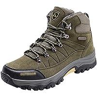 Yuanu Zapatos De Senderismo Impermeables Zapatos Deportivos Al Aire Libre Antideslizantes Zapatos Altos Zapatos para Caminar