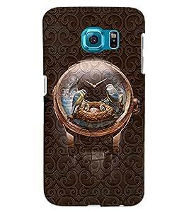 PrintVisa Cool Boy Watch 3D Hard Polycarbonate Designer Back Case Cover for Samsung Galaxy S6