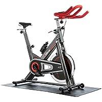 Preisvergleich für Ultrasport Premium Indoor SpinRacer 500 Fitnessbike mit Handpuls-Sensoren, Ergometer inkl. Trinkflasche und Multifunktionsmatte, Profi-Hometrainer für Ausdauer- und Leistungssport