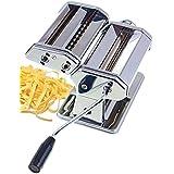 Ard'time MACHPAT Machine à Pâte Pro en Inox avec 2 Formes de Découpe et 7 Positions de Réglage