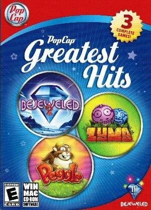PopCap Greatest Hits Includes: Bejeweled 2, Peggle & Zuma PC/MAC