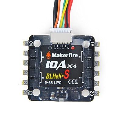 4pcs ESC 20A BLHeli Brushless Speed Controller for QAV250 Racing Drone