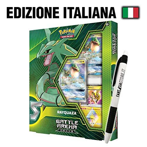 Pok emon Rayquaza-GX - Battle Arena Decks with Fantasia Pen (ITA)