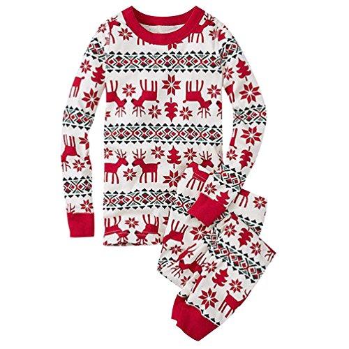 ISSHE Pijamas de Navidad Familia Pijamas Navidenas Adultos Pijama Familiares Manga Larga Hombre Mujer Ninos Nina Chica Bebe Ropa para Navidad Trajes Navidenos para Mujeres Invierno Homewear