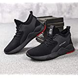 Mayank SH Training Walking Gym Sports Running Casual Light Weight Comfortable Shoes for Men Boys (White)