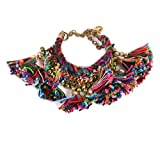 #5: gypsyJ multicolored tassle Bracelet