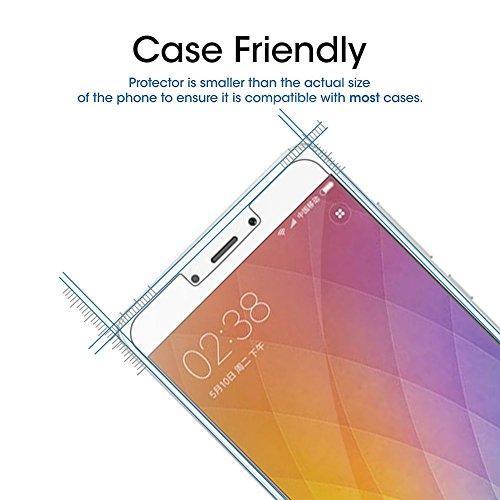 [3 Pack] Margot Cristal Templado para Xiaomi Redmi Note 4 Protector de Pantalla [Ultra trasparente] [Sin Burbujas] [Resistente a Arañazos]