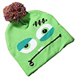 BlackStree Halloween Glowing Knitted Hat Teschio Spirito Indossa Light cap Bambini Adult Hat Party Forniture 24CM x 20CM Mostro di Fango