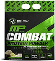 MusclePharm Combat Powder Advanced Time Release Protein, Vanilla,10 Pound