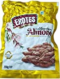 Exotes Vacuum Packed Natural Califronia Almonds Premium Quality (Pack of 4x250 Grams)