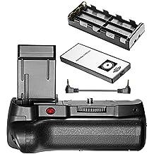 Neewer® Telecomando a Infrarossi Impugnatura Portabatteria Verticale Funziona con Batteria LP-E10 per Fotocamera DSLR Canon 1100D/ Rebel T3