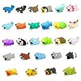 Spielzeug Zhen Telefon-Ladekabel schützt Zubehör Tier Cute Handyhülle Kabel Biss für iPhone Kabel Schnur Tier Telefon Zubehör schützt vor beugt Bruch (R-27pc)