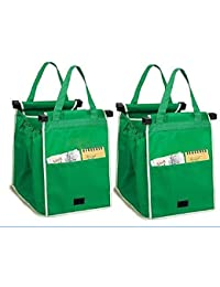 EVANA Set Of 2 Carry-On Shopping Grab Bags (Color As Available)