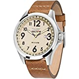 Sector Men's Watch 180 Quartz Analog Leather R3251180012