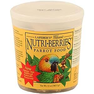 Parrot Nutri - berries 12oz
