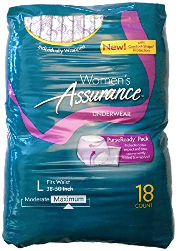 assurance-for-women-maximum-absorbency-protective-underwear-with-comfort-shape-large-18-count-by-ass