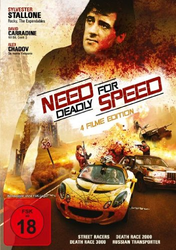 Need for Deadly Speed (4 Filme Edition: Street Racer / Death Race 2000 / Death Race 3000 & Russian Transporter)