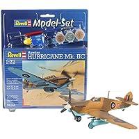 Revell - Maqueta modelo set Hawker Hurricane Mk. II, escala 1:72 (64144)