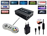 Console Retro Playbox, emulatore e media center - HDMI - Emulatore di SNES, Sega Megadrive, Nintendo, Mame, FBA, Kodi, Raspberry Pi3