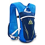 AONIJIE Running Backpacks Lightweight Hydration Pack Functional Running Vest 5.5L