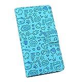 Easbuy Mit Cartoon Pattern Pu Leder Kunstleder Flip Cover Tasche Handyhülle Case Mit Karte Slot Design Hülle Etui für Oukitel K6000 PLUS Smartphone Handytasche