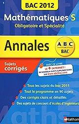 ANNALES BAC 2012 MATHS S OBLI+