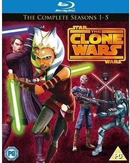 Star Wars Clone Wars - Season 1-5 [Blu-ray] [Region Free] by Star Wars-Clone Wars (B00APGRMX2) | Amazon price tracker / tracking, Amazon price history charts, Amazon price watches, Amazon price drop alerts
