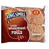 Kingsmill 8 Tasty Wholemeal Rolls